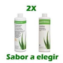 Oferta 2 Concentrado Herbal Aloe Herbalife