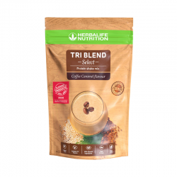 Tri Blend Select Proteínas Coffee Caramel