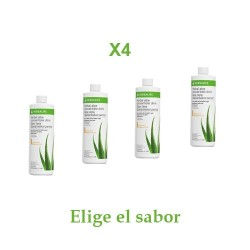 Oferta 4 Concentrado Herbal Aloe Herbalife