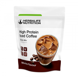 High Protein Iced Coffee Mocha Herbalife
